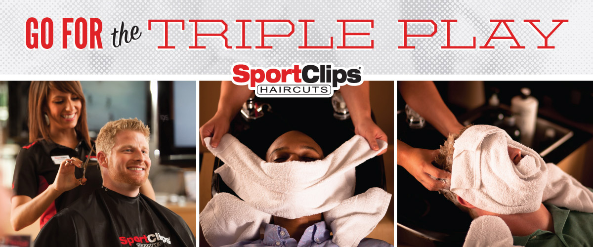 The Sport Clips Haircuts of El Paso - West Town Triple Play
